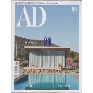 Ad-Architectural Digest - n. 467 - settembre 2020 - mensile
