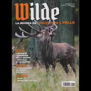 Wilde - n. 16 - bimestrale - settembre - ottobre 2020