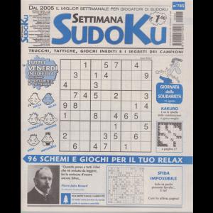 Settimana Sudoku - n. 785 - settimanale - 28 agosto 2020