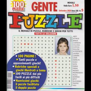 Gente Puzzle - n. 9 - settembre 2020 - mensile - 100 pagine!