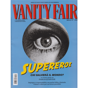 Vanity Fair  - n. 35 - settimanale - 2 settembre 2020 -