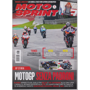 Motosprint - n. 34 - settimanale - 25/31 agosto 2020