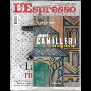 l'Espresso n.35  del 23/08/20 + le storie di Vigàta n. 8 - La rivelazione