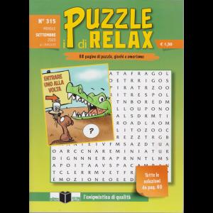 I Puzzle di Relax - n. 315 - mensile - settembre 2020