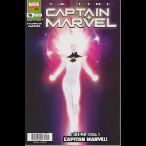 Captain Marvel - n. 15 - La fine - L'ultima storia di Capitan Marvel! - bimestrale - 27 agosto 2020