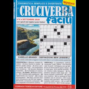 I Cruciverba Facili - n. 4 - settembre 2020 - mensile