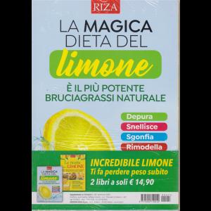 Dimagrire -La magica dieta del limone + Le ricette con il limone - n. 221 - settembre 2020 - 2 riviste