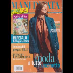 Mani di Fata + Collezione punto croce - speciale liste - n. 9 - settembre 2020 - 2 riviste
