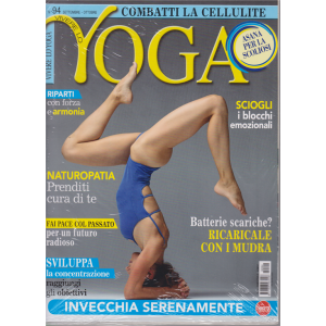 Vivere lo Yoga - n. 94 - settembre ottobre 2020 - + cd - bimestrale - rivista + cd
