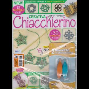 Millepunti di piu' - n. 60 - Creativa Chiacchierino - + 2 navette per chiacchierino - mensile -