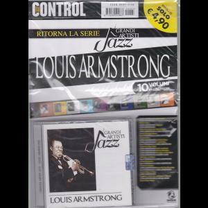Saifam Music Control - I grandi artisti jazz- n. 5 - Louis Armstrong - rivista + cd -