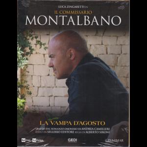 Luca Zingaretti in Il commissario Montalbano - La vampa d'agosto - n. 25 - settimanale - 1/9/2020 -
