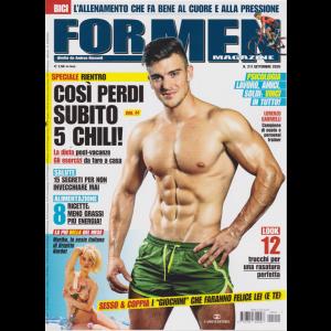 For Men Magazine - n. 211 - settembre 2020 - mensile