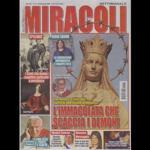 Miracoli e  Misteri - n. 19 - 29 agosto 2020 - settimanale