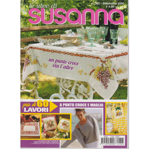 Le idee di Susanna - n. 365 - settembre 2020 - mensile