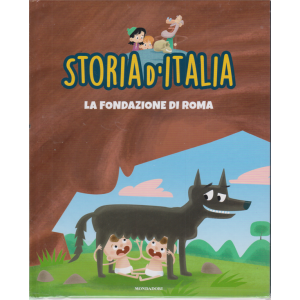 Storia d'Italia - La fondazione di Roma - n. 3 - 1 settembre 2020 - settimanale - copertina rigida