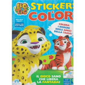 Leo & Tig - Stickers e colori - n. 4 - settembre - ottobre 2020 - bimestrale