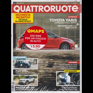 Quattroruote + QMaps - n. 781 - mensile - settembre 2020 - 2 riviste