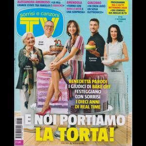 Sorrisi e Canzoni Tv - n. 35 - settimanale - 1° settembre 2020