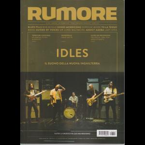 Rumore - Idles - n. 344 - mensile- settembre 2020