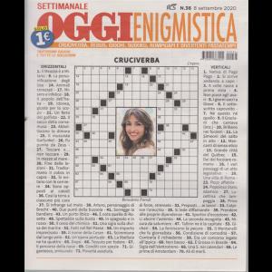 Settimanale Oggi Enigmistica - n. 36 - 8 settembre 2020 -