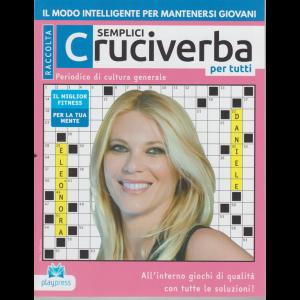 Raccolta semplici cruciverba per tutti - Eleonora Daniele - n. 38 - 4/9/2020 - bimestrale -