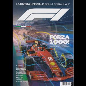 FI - La rivista ufficilae della Formula 1 - n. 2 - agosto 2020 - edizione italiana