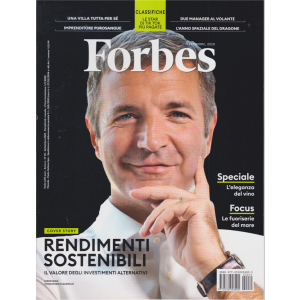 Forbes - n. 35 - settembre 2020 - mensile