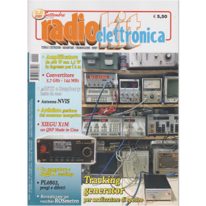 Radiokit Elettronica - n. 9 - settembre 2020 - mensile