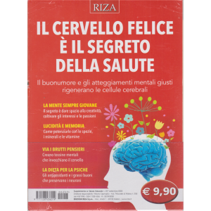 Salute naturale - Il cervello felice è il segreto della salute - n. 257 - settembre 2020 -