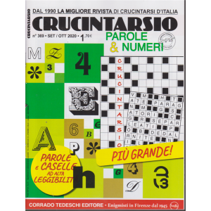 Crucintarsio - n. 369 - settembre - ottobre 2020 - bimestrale