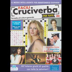 Facili cruciverba per tutti - n. 3 - bimestrale - 31/8/2020 -