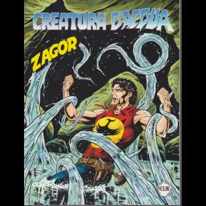 Zagor - Creatura d'acqua - n. 713 - 2 settembre 2020 - mensile -