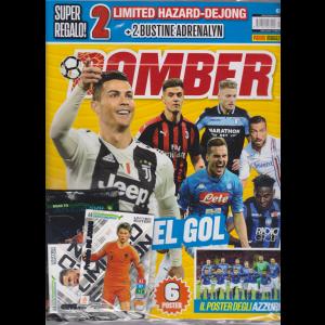 Bomber - + 2 limited hazard - dejong + 2 bustine adrenalyn - n. 21 - mensile - 13 aprile 2019