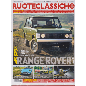 Ruoteclassiche + Fiat Panda - n. 381 - mensile - settembre 2020 - 2 riviste
