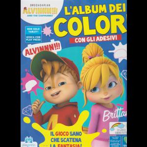 Alvinnn!!! And the chipmunks l'album dei colori n. 8 - settembre - ottobre 2020 - bimestrale -