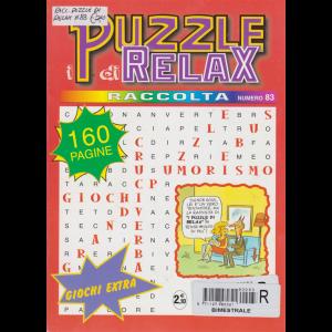 Raccolta i puzzle di relax n. 83 - bimestrale - 160 pagine