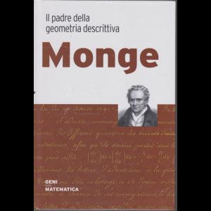 Geni della matematica - Monge - Il padre della geometria descrittiva - n. 30 - settimanale - 3/9/2020 - copertina rigida