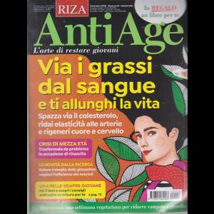 Riza Antiage + in regalo La guida pratica - I cibi che nutrono il cervello - n. 29 - settembre 2020 - mensile - rivista + libro