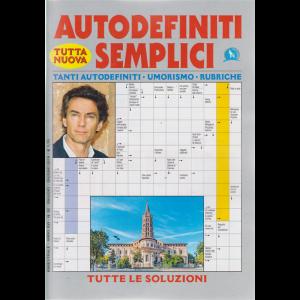 Autodefiniti semplici - n. 92 - bimestrale - maggio - giugno 2019 -