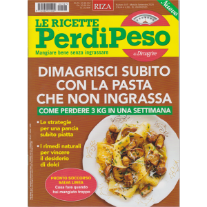Le ricette Perdipeso di Dimagrire - n. 107 - mensile - settembre 2020