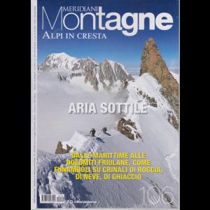 Meridiani Montagne - n. 106 - Alpi in cresta - settembre 2020 - bimestrale -