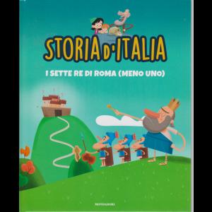 Storia d'Italia - I sette re di Roma (meno uno) - n. 4 - 8/9/2020 - settimanale - copertina rigida