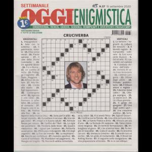 Settimanale Oggi Enigmistica - n. 37 - 15 settembre 2020 -