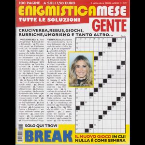 Enigmistica Mese Gente - n. 9 - 5 settembre 2020 - 100 pagine