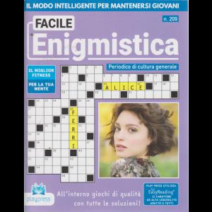 Facile Enigmistica - n. 209 - bimestrale - 7/9/2020