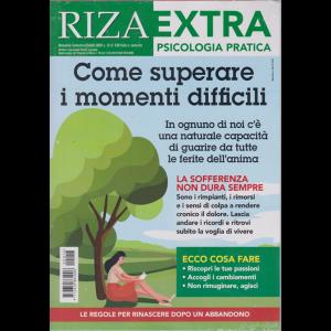 Riza Extra -Psicologia pratica - Come superare i momenti difficili - n. 16 - bimestrale - settembre - ottobre 2020 -