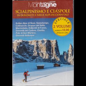 Meridiani Montagne collezione - Scialpinismo e ciaspole in Dolomiti e nelle Alpi occidentali - n. 106 - settembre 2020 - 2 volumi