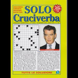 Solo Cruciverba - n. 190 - bimestrale - ottobre - novembre 2020 - 100 pagine
