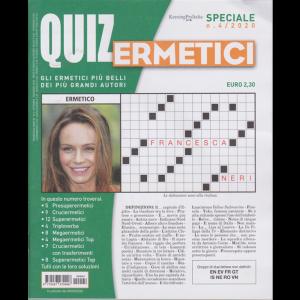 Quiz Ermetici - n. 4 - 8/9/2020 - trimestrale